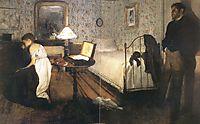 Interior (The Rape), 1869, degas