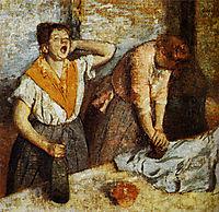 Ironers, 1884-1886, degas