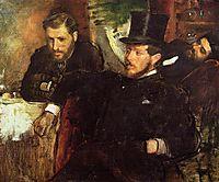 Jeantaud, Linet and Laine, 1871, degas