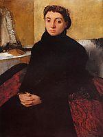 Josephine Gaujean, 1868, degas