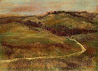 Landscape, c.1893, degas
