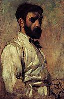 Leon Bonnat, 1863, degas