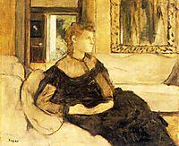 Madame Gobillard, Yves Morisot, 1869, degas