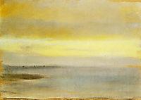 Marina, Sunset, 1869, degas