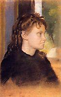 Mme. Theodore Gobillard, 1869, degas