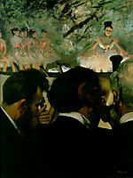 Musicians in the Orchestra, 1872, degas