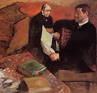 Pagan and Degas- Father, 1895, degas