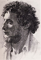 Portrait of an Italian, 1856, degas