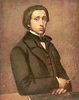 Portrait of the Artist, 1855, degas