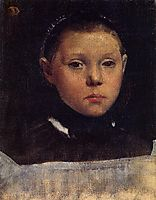 Portrait of Giulia Bellelli, 1859, degas