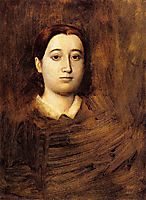Portrait of Madame Edmondo Morbilli, 1865, degas