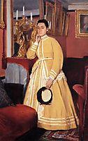 Portrait of Madame Edmondo Morbilli, born Therese De Gas, c.1869, degas
