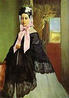 Portrait of Marguerite Degas, 1858-1860, degas