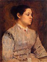 Portrait of a Young Woman, c.1865, degas