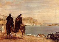 Promenade by the Sea, c.1860, degas