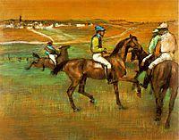 Race horses, 1888, degas