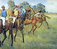 Race Horses, c.1873, degas