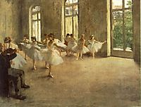 Repetition, 1878, degas