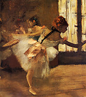 Repetition of the Dance (detail), 1877, degas