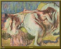 Rest, 1893, degas