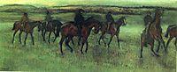 The Riders, 1876, degas