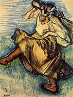 Russian Dancer , c.1899, degas