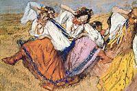 Russian Dancers, c.1899, degas