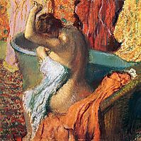 Seated Bather, 1899, degas