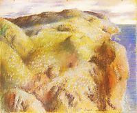 Steep Coast, 1892, degas