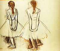 Study for the Fourteen Year Old Little Dancer, 1881, degas