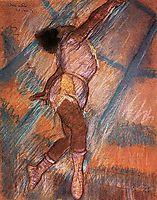 Study for -La La at the Cirque Fernando-, 1879, degas