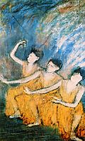 Three Dancers, c.1898, degas