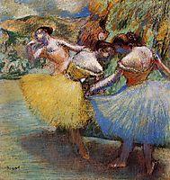 Three Dancers, c.1901, degas