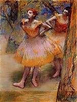 Two Dancers, c.1898, degas