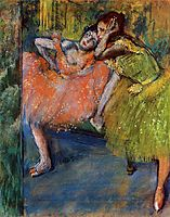 Two Dancers in the Foyer, degas