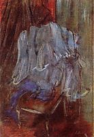 Vestment on a Chair, c.1887, degas