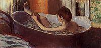 Woman in a Bath Sponging Her Leg, c.1884, degas