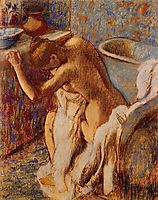 Woman Drying Herself, c.1898, degas