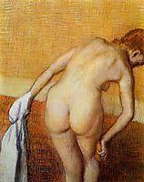 Woman Having a Bath, c.1888, degas