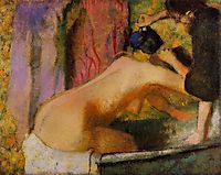 Woman at Her Bath, c.1898, degas