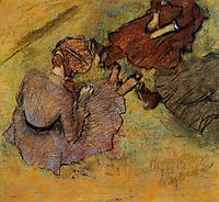 Woman Seated on the Grass, 1882, degas