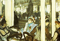 Women on a Cafe Terrace, 1877, degas