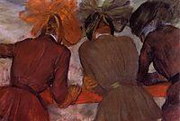 Women Leaning on a Railing, c.1890, degas