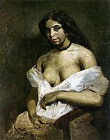 Aspasia, 1824, delacroix