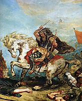 Attila the Hun , delacroix