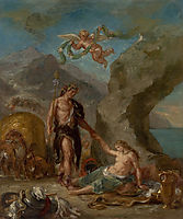 The Autumn Bacchus and Ariadne, 1863, delacroix