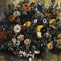 Bouquet of Flowers, 1849-1850, delacroix