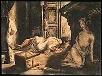 The Bride of Lammermoor, 1826, delacroix