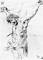 Christ on the Cross, 1839, delacroix