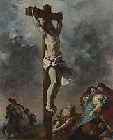Christ on the Cross, 1853, delacroix